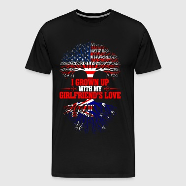 American Grown Up With My Australian Girlfriends  - Men's Premium T-Shirt
