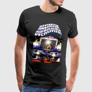 Maximum Overdrive Poster - Men's Premium T-Shirt