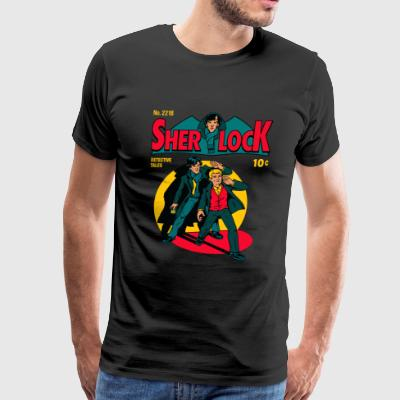 Sherlock Comic - Men's Premium T-Shirt