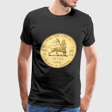 Lion of Judah - Jah Rastafari - Empire of Ethiopia - Men's Premium T-Shirt