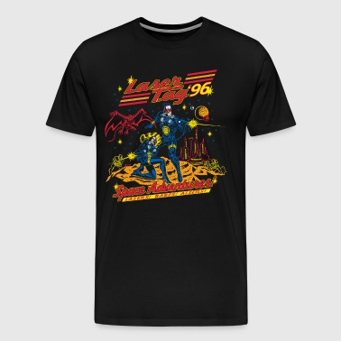 Laser Tag'96 Retro Tee - Men's Premium T-Shirt