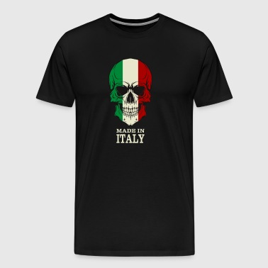 Made in Italy Skull Flag - Men's Premium T-Shirt