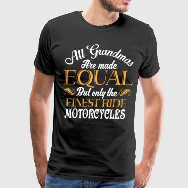 The Finest Ride Motorcycles T Shirt - Men's Premium T-Shirt