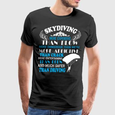 Skydiving T Shirt - Men's Premium T-Shirt
