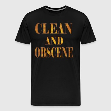 Clean and Obscene words3 - Men's Premium T-Shirt