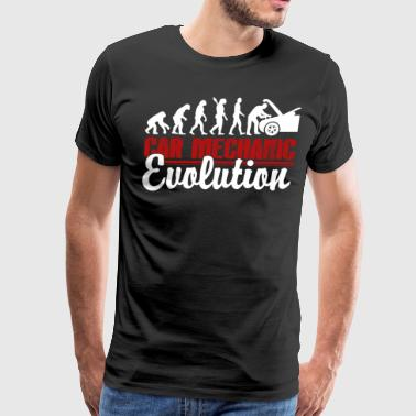 Car Mechanic Evolution Shirt - Men's Premium T-Shirt