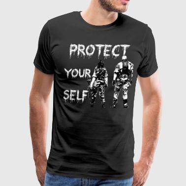 Protect your Self - Men's Premium T-Shirt