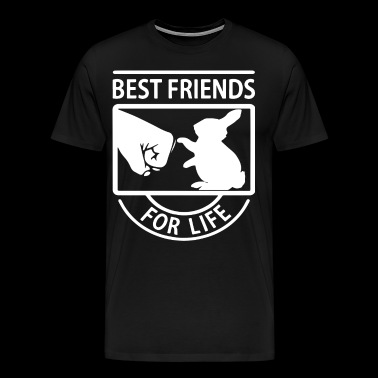 BUNNY BEST FRIENDS FOR LIFE - Men's Premium T-Shirt
