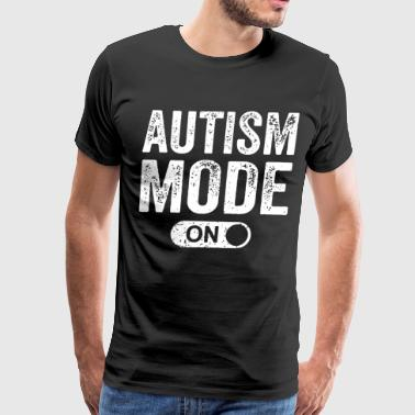 Autism Mode on t-shirts - Men's Premium T-Shirt