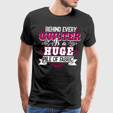 Quilting T Shirt - Men's Premium T-Shirt