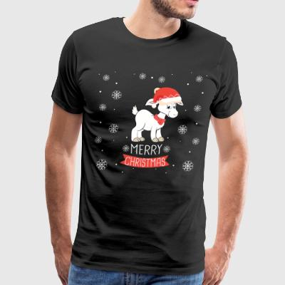 Best Christmas Day Ever With My Goat, Best Shirts - Men's Premium T-Shirt