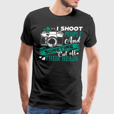 Photographer T Shirt - Men's Premium T-Shirt