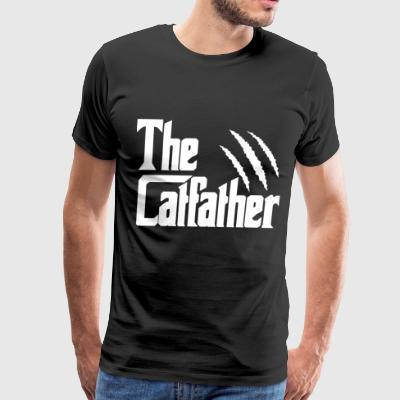 The CatFather - Men's Premium T-Shirt