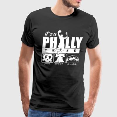 Philly Basketball Shirt - Men's Premium T-Shirt