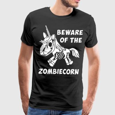 Beware of the zombiecorn - Men's Premium T-Shirt