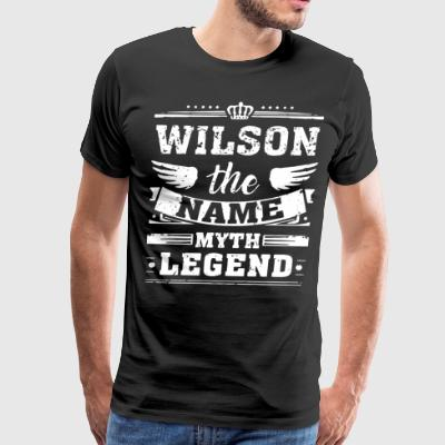 WILSON THE NAME THE MYTH THE LEGEND - Men's Premium T-Shirt