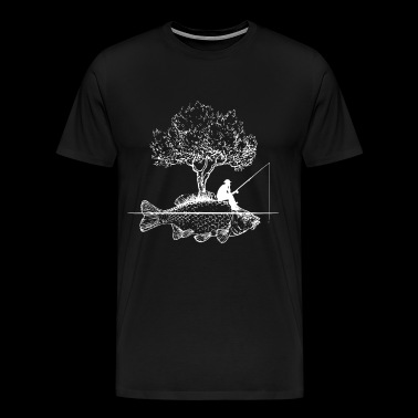 Fishing Art Gift - Men's Premium T-Shirt
