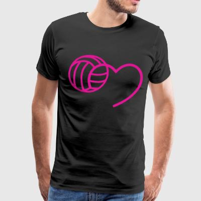MY BALL IN MY HEART t-shirts - Men's Premium T-Shirt