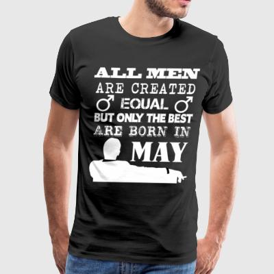 All Men Are Created Equal T Shirt - Men's Premium T-Shirt