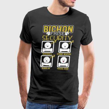 Bichon Frise Shirt - Bichon Frise Security Shirt - Men's Premium T-Shirt