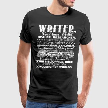 Write Descriptions Shirt - Men's Premium T-Shirt