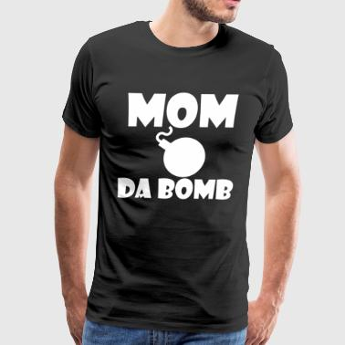 MOM DA BOMB - Men's Premium T-Shirt