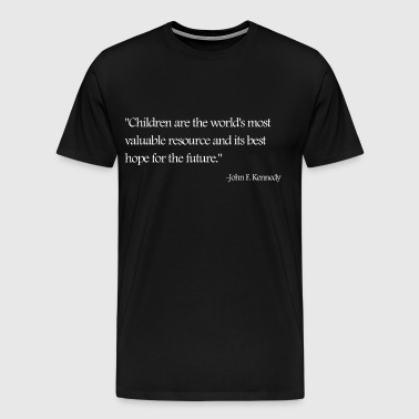 JFK Quote - Men's Premium T-Shirt