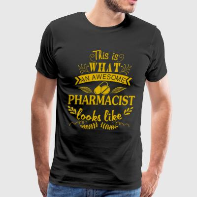 This Is An Awesome Pharmacist T Shirt - Men's Premium T-Shirt