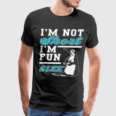 I'm Not Short I'm Fun Size T Shirt - Men's Premium T-Shirt
