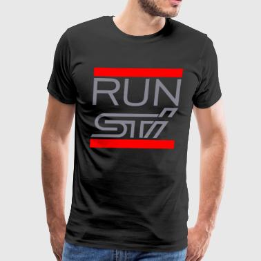 RUN STI - Men's Premium T-Shirt