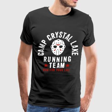 Friday The 13Th Camp Crystal Lake Running Team Voo - Men's Premium T-Shirt
