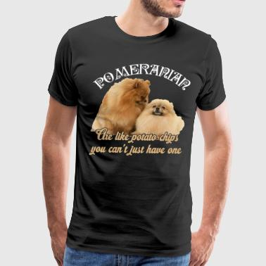 Pomeranians Shirt - Love Pomeranians Dog T-Shirt - Men's Premium T-Shirt