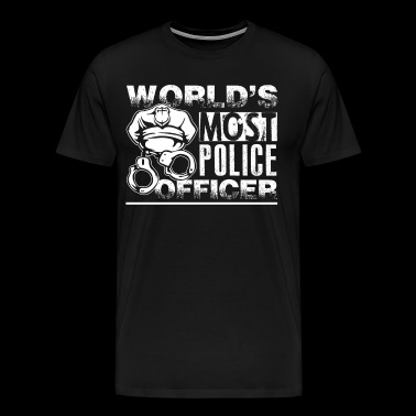 Awesome Police Officer Shirt - Men's Premium T-Shirt