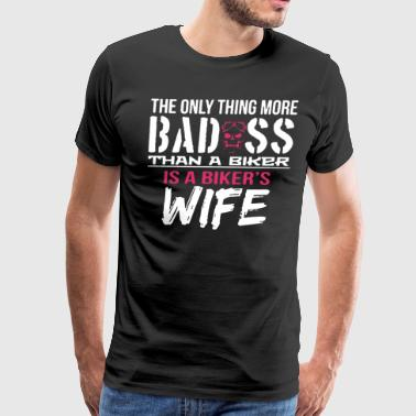 Biker's Wife Shirt - Men's Premium T-Shirt