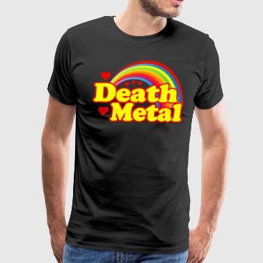 Death Metal Rainbow - Men's Premium T-Shirt