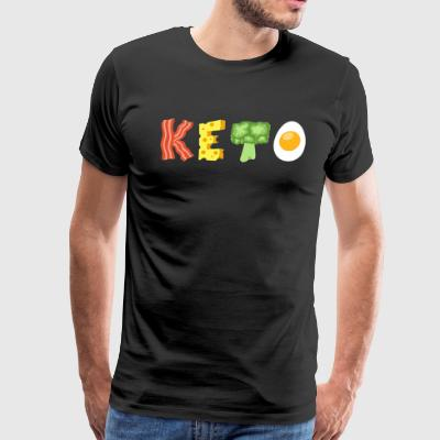 Keto Low Carb Diet - Men's Premium T-Shirt