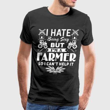 I'm A Farmer So I Can't Help It T Shirt - Men's Premium T-Shirt