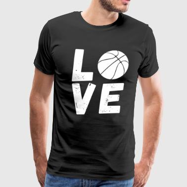Basketball Love - Sports Gift - Men's Premium T-Shirt