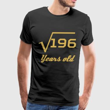 Square Root Of 196 14 Years Old - Men's Premium T-Shirt
