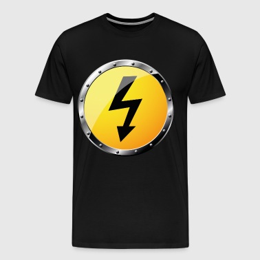 high voltage - Men's Premium T-Shirt