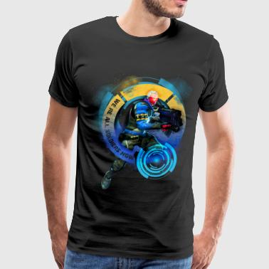 Overwatch: Soldier 76 - Men's Premium T-Shirt