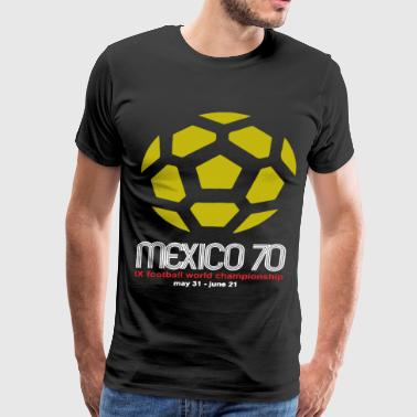 Mexico 70 Classic Football World Cup Mens Retro Di - Men's Premium T-Shirt