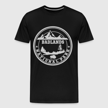 BADLANDS11.png - Men's Premium T-Shirt