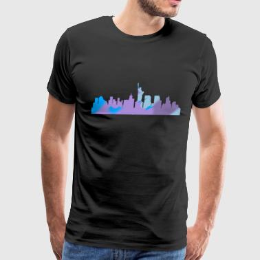 NYC city - Men's Premium T-Shirt