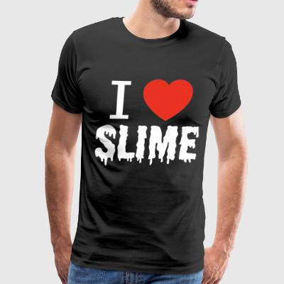 I Heart Slime - Men's Premium T-Shirt