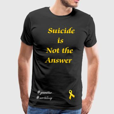 yellow Ribbon - Men's Premium T-Shirt