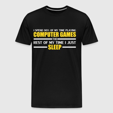 Computer Games - Men's Premium T-Shirt