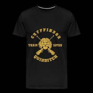 Gryffindor Quidditch Team Captain Harry Potter pre - Men's Premium T-Shirt