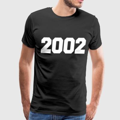 TIME AND PLACE 2002 - Men's Premium T-Shirt