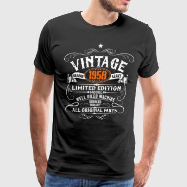 60th Birthday - Vintage 1958 Gift - Men's Premium T-Shirt